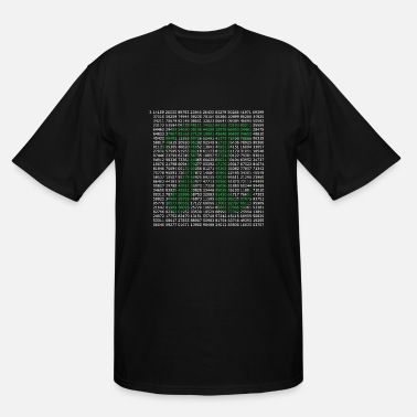 Pi Pi - Men's Tall T-Shirt