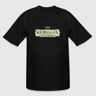 Kilbeggan Irish Whiskey - Men's Tall T-Shirt
