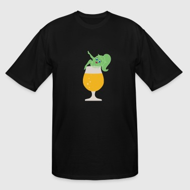 Hophead Sexy Beer Girl - Men's Tall T-Shirt