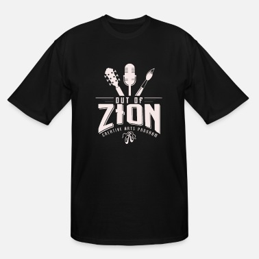 Zion Out of Zion - Men's Tall T-Shirt