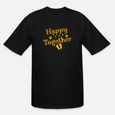 Happy Together Dog Happy Together Dog - Men's Tall T-Shirt