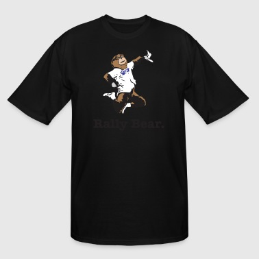 Rally Bear - Men's Tall T-Shirt