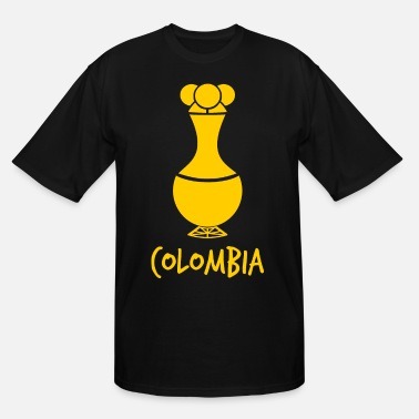 Pre Columbian Poporo Colombia - Men's Tall T-Shirt