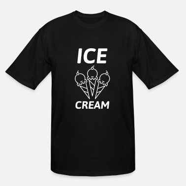 Ice Cream Parlour Ice Cream - Men's Tall T-Shirt