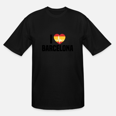 I Love Barcelona I love Barcelona - Men's Tall T-Shirt