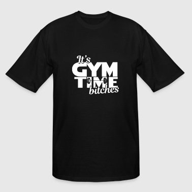 Bitch Gym Fitness - Fit - Work out - Working out - Gym - Men's Tall T-Shirt
