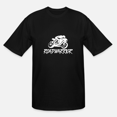 Biker BIKER WARRIOR - Men's Tall T-Shirt