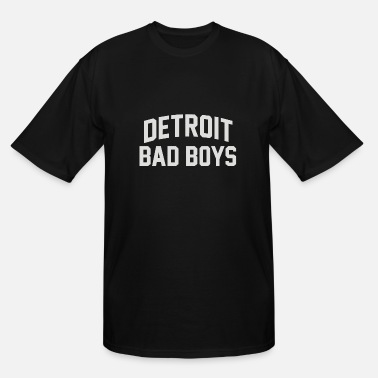 Vintage Detroit Pistons Detroit Pistons Bad Boys - Men's Tall T-Shirt