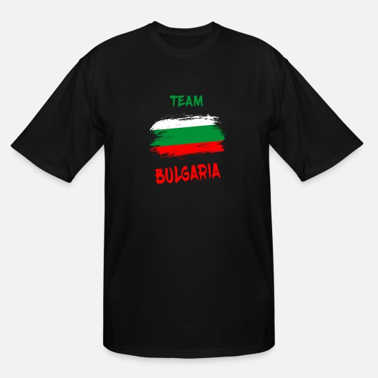 Eastern Europe T-Shirts - Team Bulgaria / Gift Sofia Eastern Europe - Men's Tall T-Shirt black