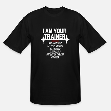 Trainer Personal trainer design funny tshirt - Men's Tall T-Shirt