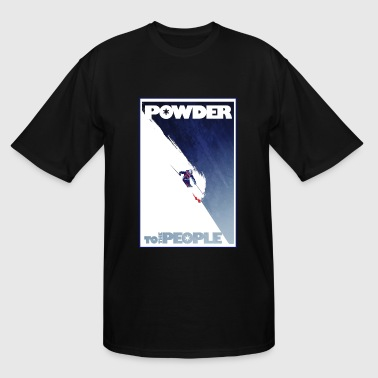 powder - Men's Tall T-Shirt