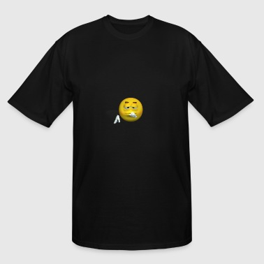 emotiguy sad thoughtful face lonely - Men's Tall T-Shirt