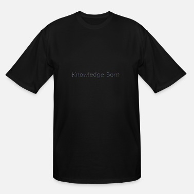 Free Knowledge Born - Men's Tall T-Shirt