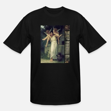 Classical Art William Bouguereau - Jeunesse (Youth) 1893 - Men's Tall T-Shirt