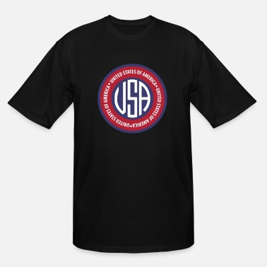 Emblem USA emblem - Men's Tall T-Shirt