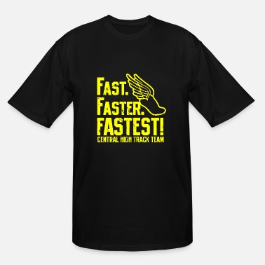 Fast Fast - Men's Tall T-Shirt