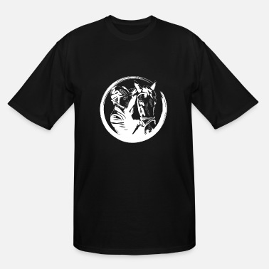 Equitation Horse riding equitation - Men's Tall T-Shirt