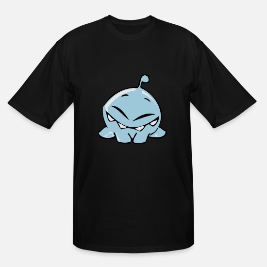 Sealife T-Shirts - blubber bubble - Men's Tall T-Shirt black