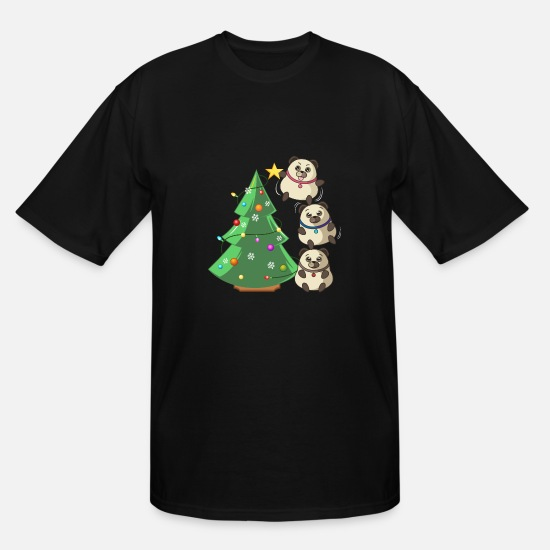 2018 T-Shirts - Christmas T-shirt - Men's Tall T-Shirt black