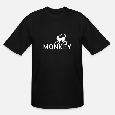 Monkey Ape Animal - Men's Tall T-Shirt