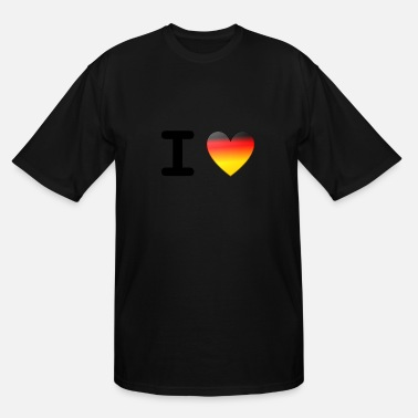 I Love Germany | I Love Deutschland - Men's Tall T-Shirt