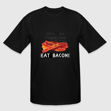 Eat Bacon Eat Bacon! - Men's Tall T-Shirt