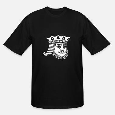 Kings Humour KING - Men's Tall T-Shirt