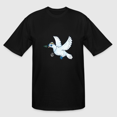 Woodstock Dvd dove pigeon - Men's Tall T-Shirt