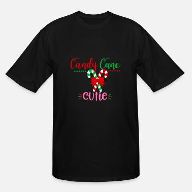 Candy Cane Candy Cane Cutie - Men's Tall T-Shirt