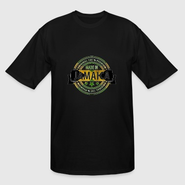 Raggae Made in Jamaica Badge - Men's Tall T-Shirt