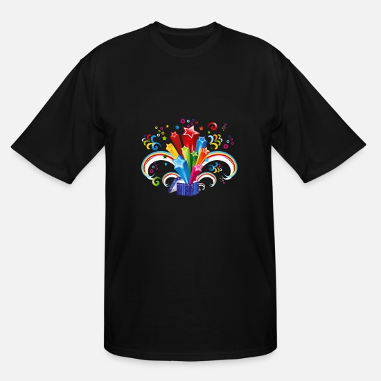 Celebration T-Shirts - celebration - Men's Tall T-Shirt black