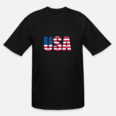 Stars And Stripes USA - stars and stripes - Men's Tall T-Shirt