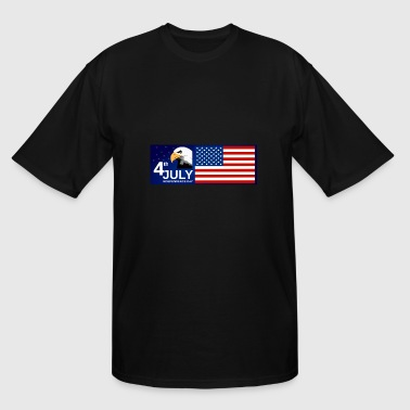 Independence day USA 4th july - Men's Tall T-Shirt