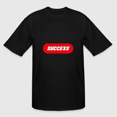 Success Red Block - Men's Tall T-Shirt