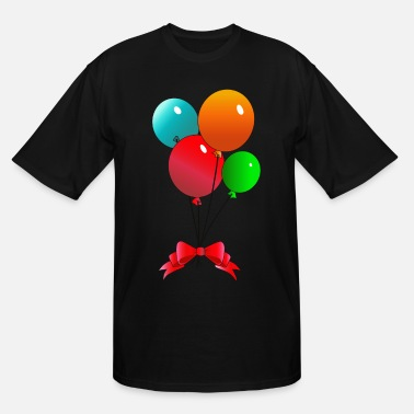 Balloon Balloons - Men's Tall T-Shirt
