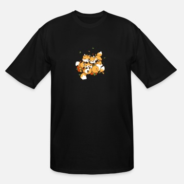Playful Playful Foxes - Men's Tall T-Shirt