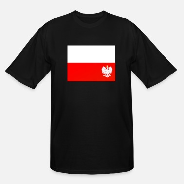 Polish Kids polish flag - Men's Tall T-Shirt