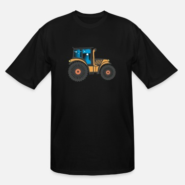 Image Tractor Image - Men's Tall T-Shirt