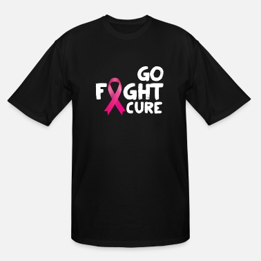 Breast Cancer Cure Fight Cure Breast Cancer - Men's Tall T-Shirt