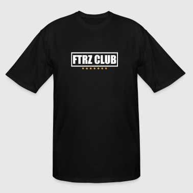Ftrz Club Box Logo - Men's Tall T-Shirt