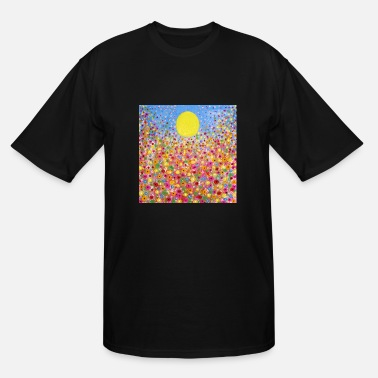 Meadow Wildflower Meadows - Men's Tall T-Shirt