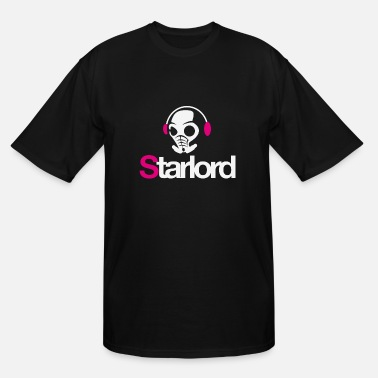 Starlord Headphone Picture - Men's Tall T-Shirt
