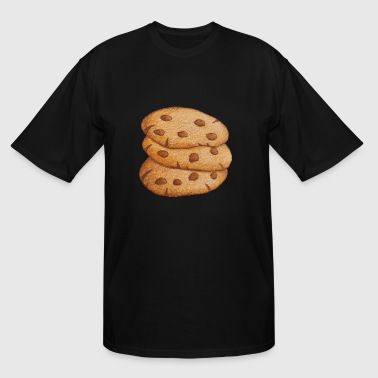 Chocolate Chip Cookie Chocolate Chip Cookies - Men's Tall T-Shirt