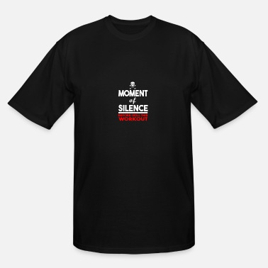 Humour MOMENT OF SILENCE HUMOUR LOGO - Men's Tall T-Shirt