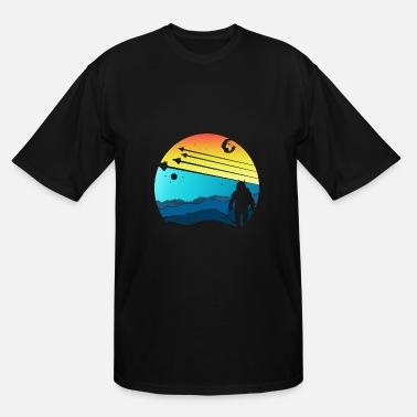 1154ed1c ASTRONAUT Science Fiction Day NASA Gift Idea - Men's Tall T-. Men's  Tall T-Shirt. ASTRONAUT Science Fiction Day ...