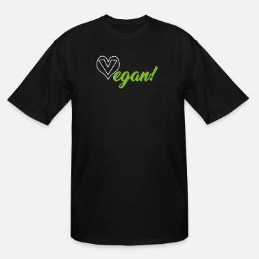 Vegan Vegan Vegan Vegan - Men's Tall T-Shirt