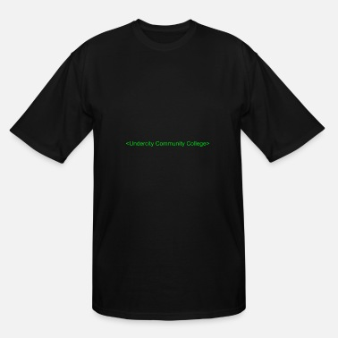 Undercity Community College - Men's Tall T-Shirt