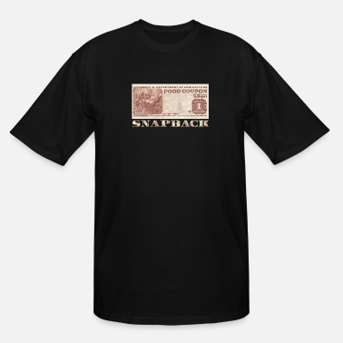 Food Stamps Snapback - Men's Tall T-Shirt