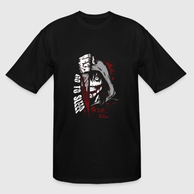 Jeff the killer - Go to sleep horror T - shirt - Men's Tall T-Shirt