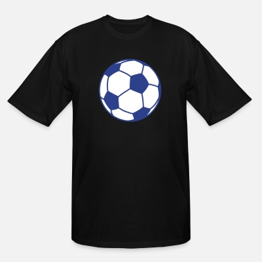 Fotboll football / ball / soccer ball 2c - Men's Tall T-Shirt